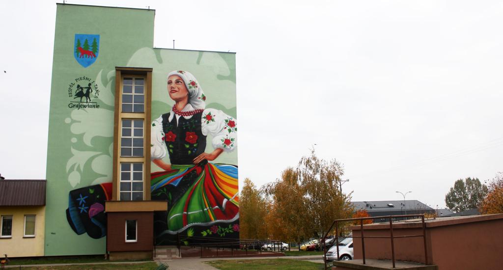 mural Pieśni i Tańca